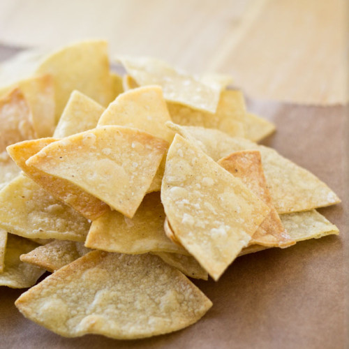 Baked Lime Tortilla Chips | Culinary Hill