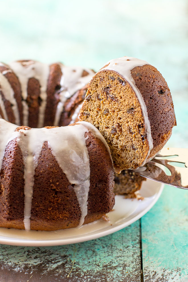 This easy Spice Cake comes from my grandma and is my most treasured recipe. Start with a mixture of boiled spices and raisins - the smell is heavenly!