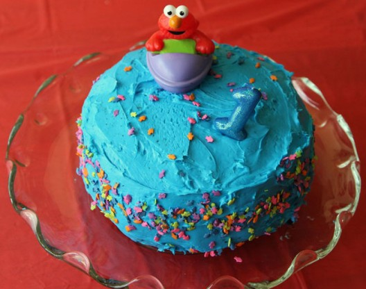 Elmo Birthday Cake via Culinary Hill