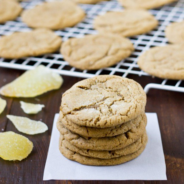 Double Ginger Cookies | Culinary Hill