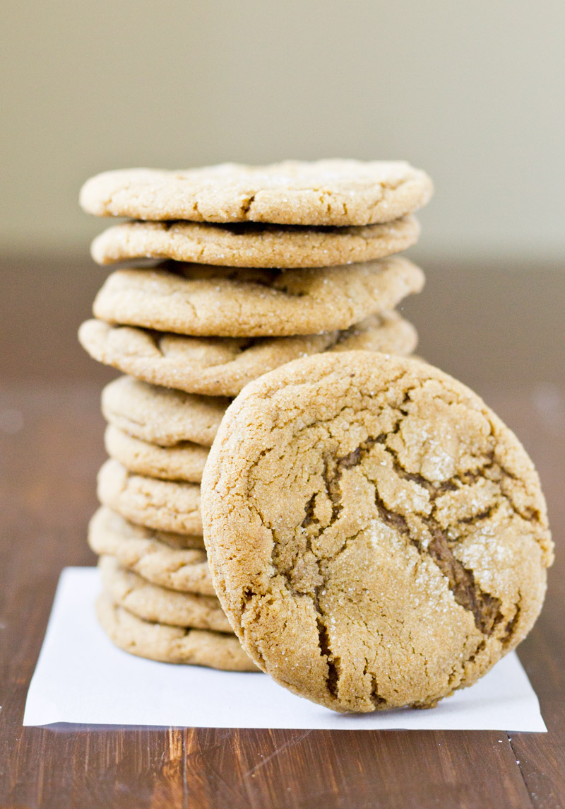 Double Ginger Cookies - Culinary Hill