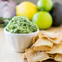 This Chipotle Guacamole recipe is the real deal. With just six ingredients and a few minutes, you can enjoy as much Chipotle Guacamole at home as you can mash!