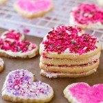 Valentine's Day Frosted Sugar Cookies | Culinary Hill