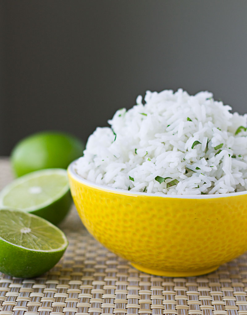 This recipe for Chipotle Cilantro-Lime Rice originally appeared at ...