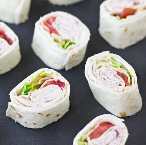 Turkey Rollups with Cranberry Cream Cheese {Costco Copycat} | Culinary Hill