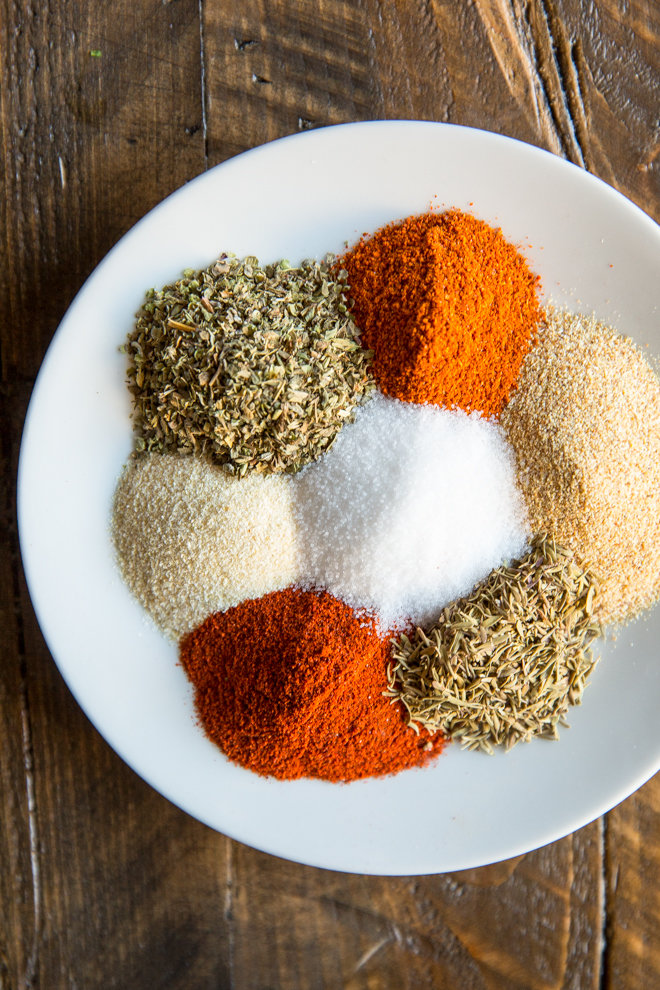 Homemade Cajun Seasoning is a tasty, versatile blend that is made of common spices you probably already have on hand! Great on meats, pasta, and veggies.