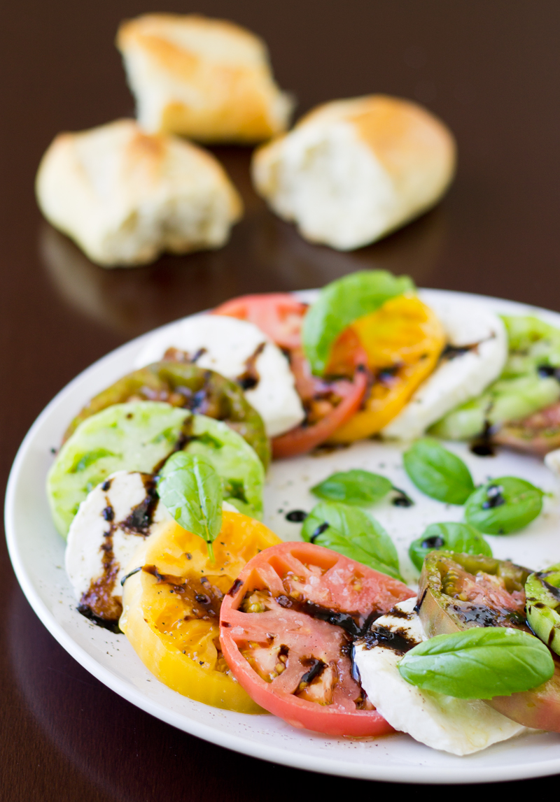 Heirloom Tomato Caprese Recipes — Dishmaps