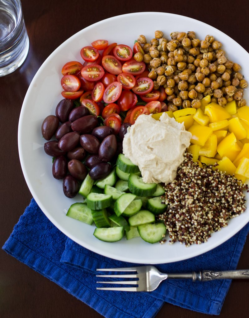 Mediterranean Vegan Bowl | Culinary Hill
