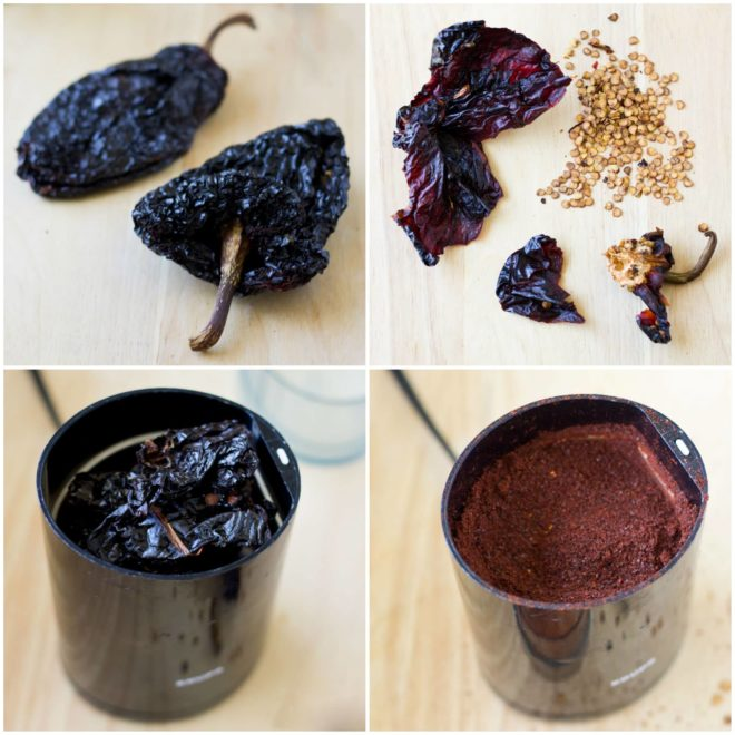 Add this fragrant, warm flavor to your spice cabinet in just a few minutes with my recipe for Homemade Ancho Chile Powder. Much cheaper than store-brought!