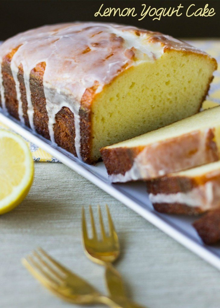 ... love this Lemon Yogurt Cake and you'll never even miss the butter