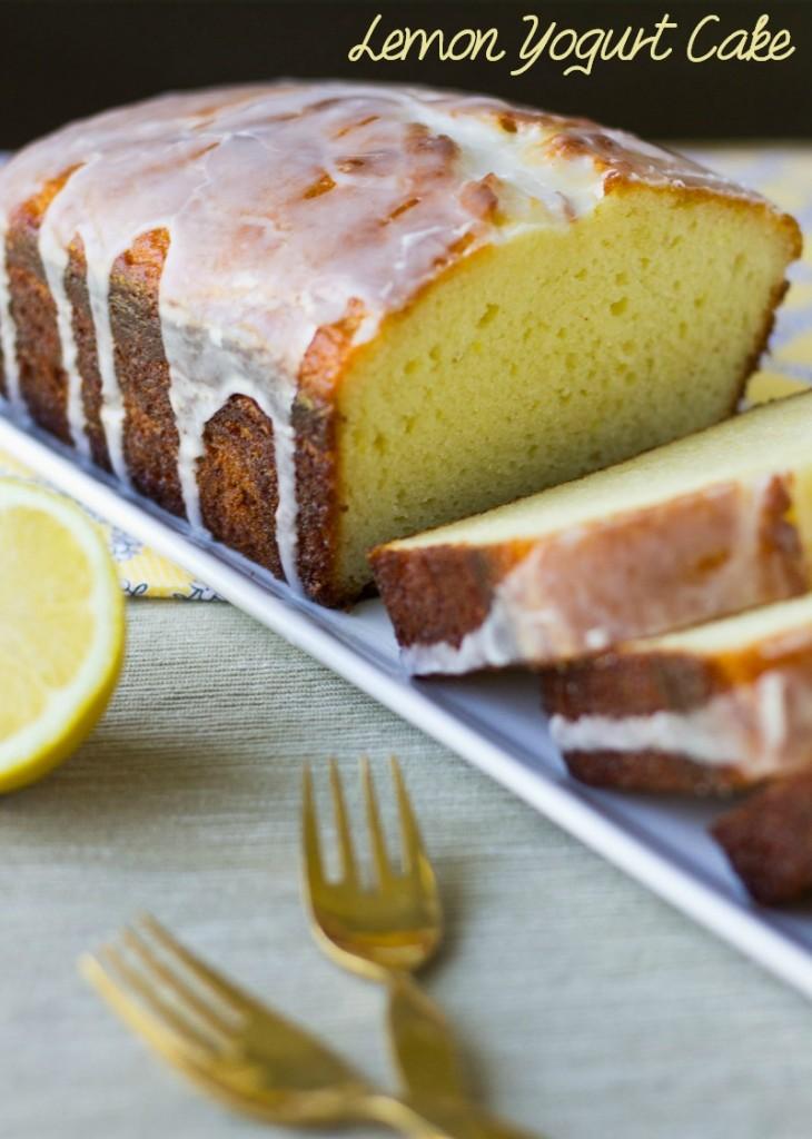 Lemon Yogurt Cake Recipe Donna Hay