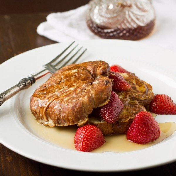 Croissant French Toast | Culinary Hill