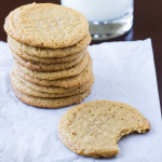 Flourless Peanut Butter Cookies | Culinary Hill