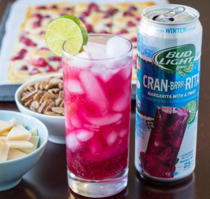 Bud Light Lime Cran-Brrr-Rita | Culinary Hill