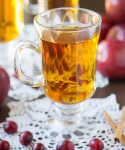 Slow Cooker Cranberry Apple Cider | Culinary Hill