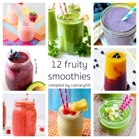 12 Fruity Smoothies | Culinary Hill