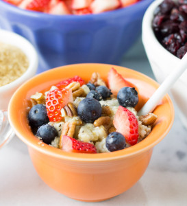 Steel Cut Oats and Toppings Bar | Culinary Hill #shop