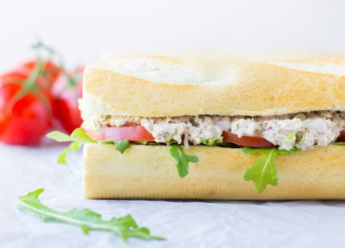Classic Tuna Salad Sandwich | Culinary Hill