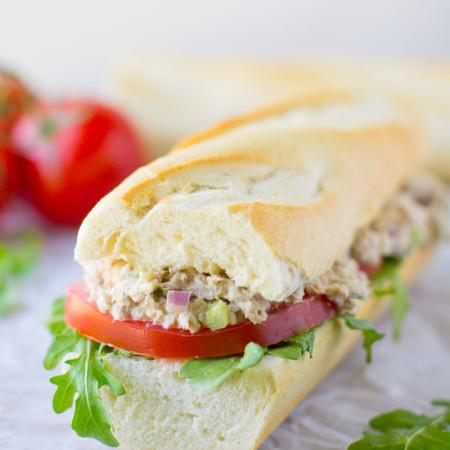 Classic Tuna Salad Sandwich | Culinary Hill