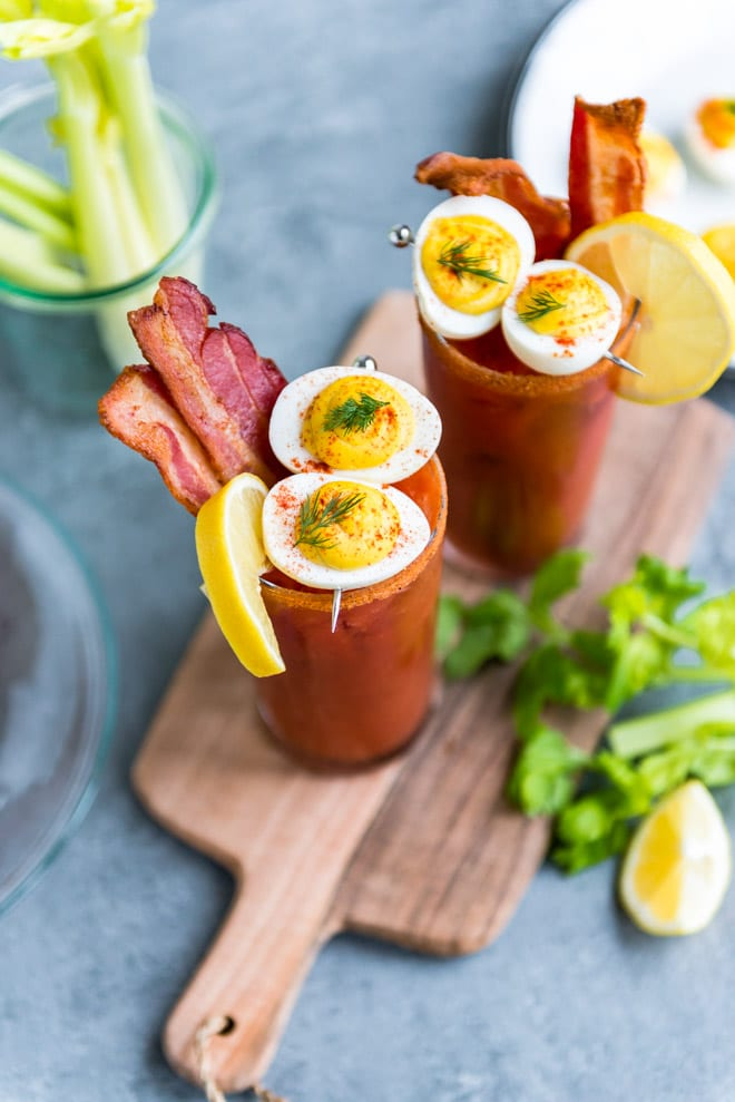 Bacon And Eggs Bloody Mary Culinary Hill