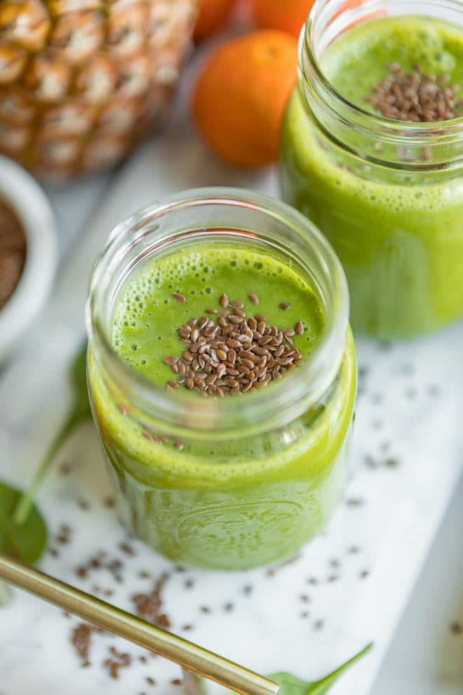 The Best Green Smoothie | Culinary Hill