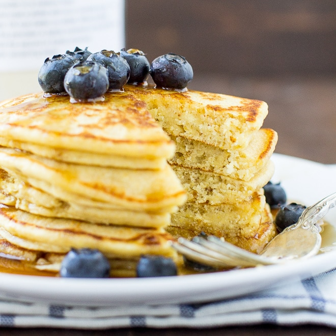 Homemade healthy pancake mix culinary hill customize your own blend of homemade healthy pancake mix with this tried and true ccuart Choice Image