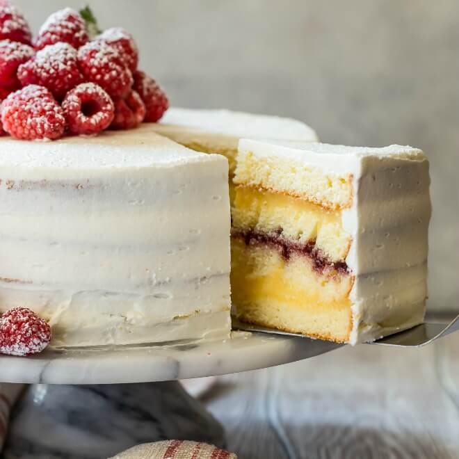 Danish Layer Cake (Dansk Lagekage) | Culinary Hill