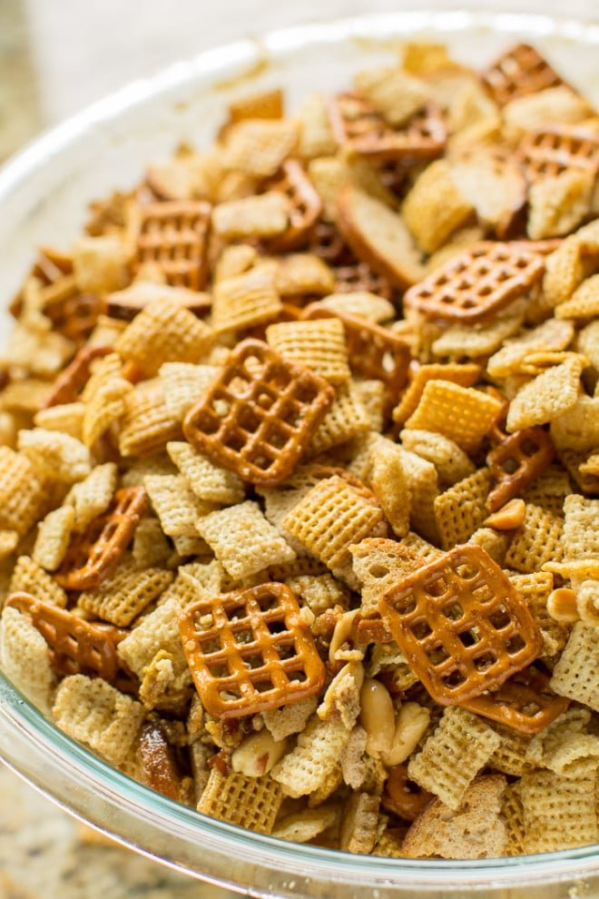 Homemade chex mix culinary hill make homemade chex mix in the microwave in 10 minutes or less adapted from the ccuart