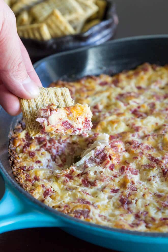 Hot Reuben Dip Recipe Culinary Hill