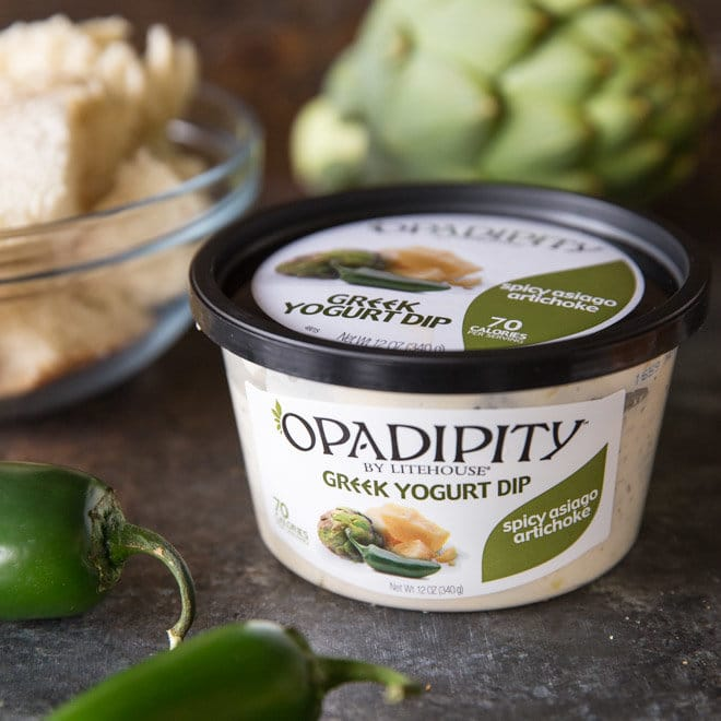 Opadipity greek yogurt dip.