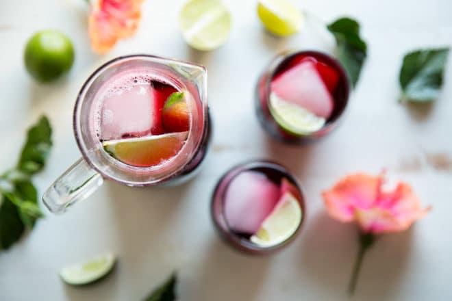 Agua De Jamaica Hibiscus Tea Culinary Hill