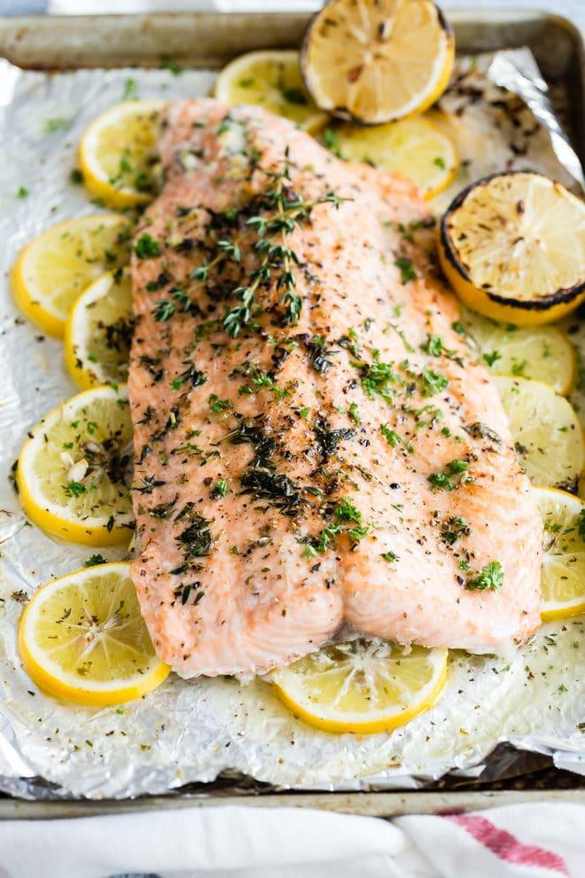 Easy salmon recipes with lemon