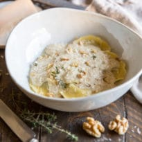 Drizzle it over Mushroom Ravioli for an elegant dinner party or an easy weeknight dinner. It's delicious any time!