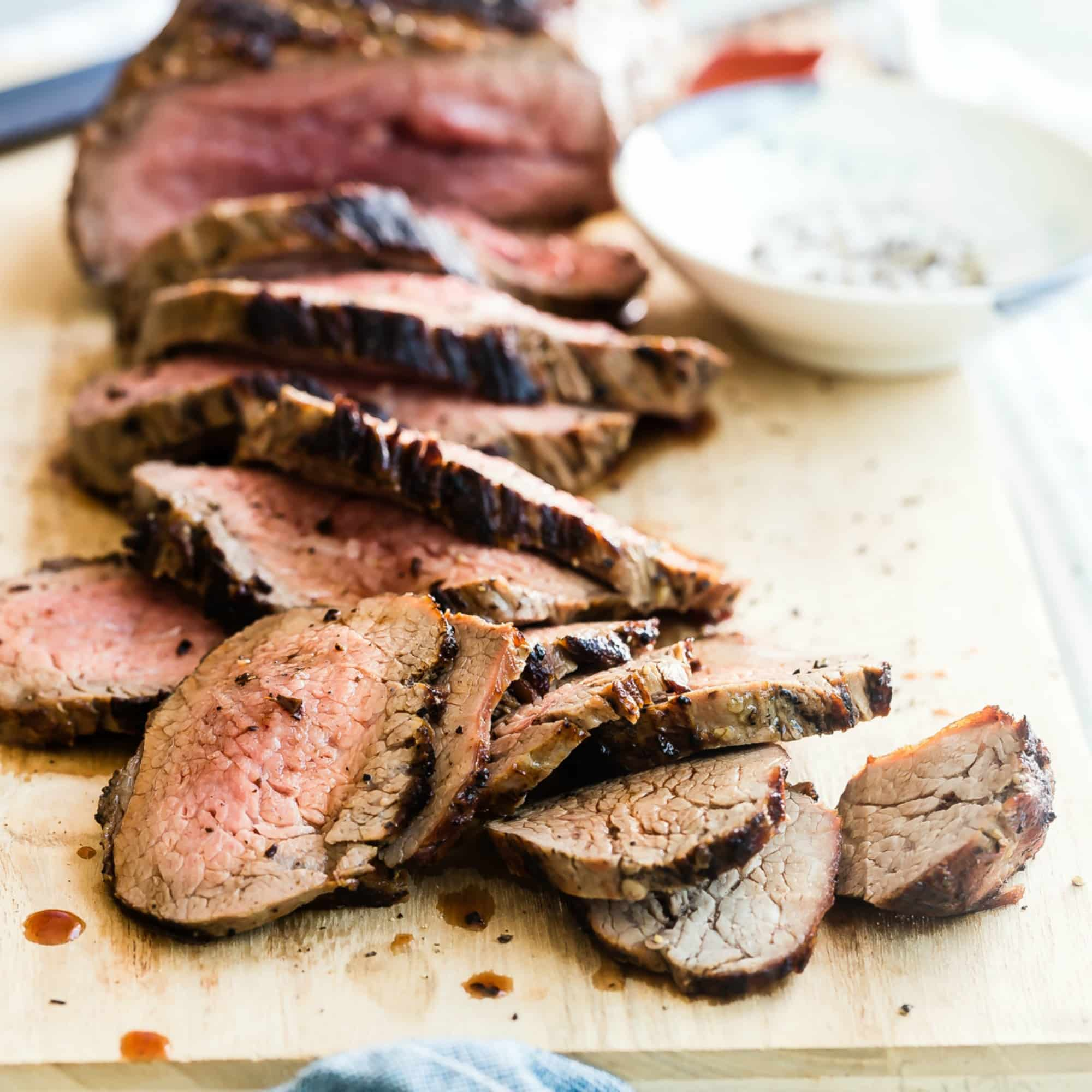 Today I'll let you in on a California secret: The humble tri-tip. Part steak, part roast, and totally, absolutely, 100% delicious. This little-known cut of meat that's sure to be the next big thing at your summer barbecues. Most of all, this might be the best, easiest tri tip recipe out there.