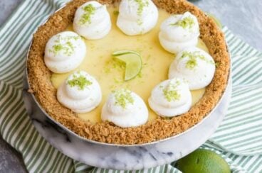 Key lime pie.