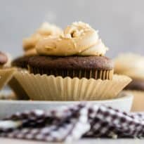 The most luscious, creamiest, most velvety peanut butter frosting is yours for the spreading. If you need peanut butter frosting for cupcakes, brownies, or a big chocolate cake, this is the recipe that wins all the prizes. Easy to make, easy to love, and oh, so hard to resist.