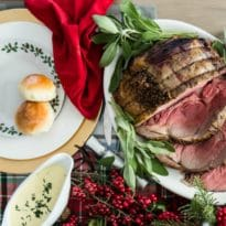 This holiday season, I'll be serving up a Very, Merry Christmas Dinner for the whole family, with a classic menu that's bound to delight everyone at the table, naughty or nice.