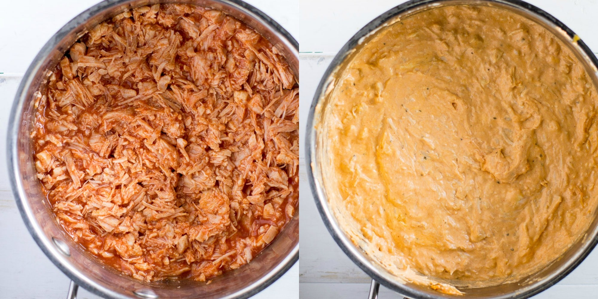 An easy recipe for Buffalo Chicken Dip. Make it on the stove top, in a crockpot, or even in your Instant Pot. Great for game days and parties all year long, serve this dip with cold celery sticks or crunchy Chicken crackers.