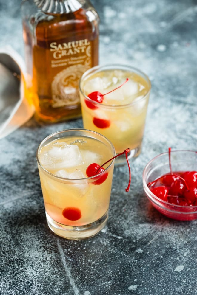 Maybe it's been awhile since you've had a Whiskey Sour cocktail; if so, it's definitely time to revisit this old-school classic, made only with the freshest ingredients. And the best part, for me? The drink was first mentioned, way back when, in a Wisconsin newspaper.