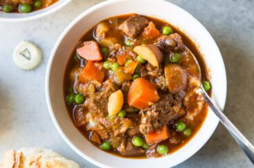 You don't need the luck o' the Irish to make a phenomenal beef and Guinness Stew, just a bottle of the good stuff and a pot big enough to hold it all. This stew is so rich and hearty, it might become your new standard stew recipe!