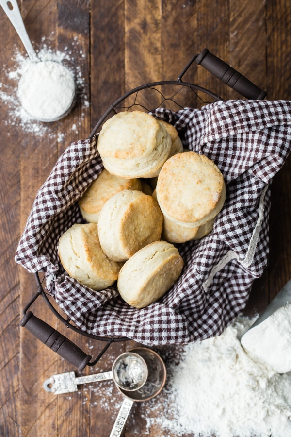 Here's how to make biscuits that are so light and fluffy, they practically float off the plate right into your mouth. They're seriously easy to make, too; you don't even need a pastry blender to make the best biscuits ever—just a bowl and a spoon.