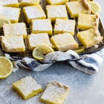 When life hands you lemons, make homemade Lemon Bars; equal parts tart and sweet, these gorgeous little bar cookies are guaranteed to brighten up anybody's day.