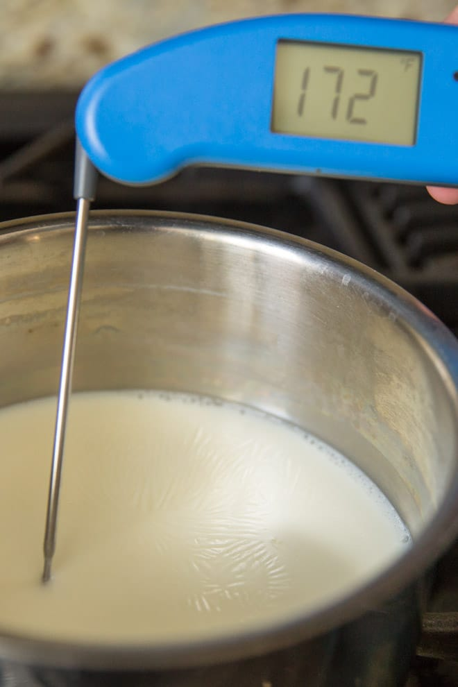If you've ever wondered what it means to scald milk, it's a tried and true technique that yields the fluffiest breads, rolls, and cakes you've ever tasted. This old-fashioned technique still has its place in the kitchen, and it's remarkably easy to do.