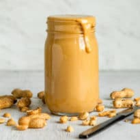 All it takes is a few minutes, some peanuts, and a food processor to make all-natural Homemade Peanut Butter that's better than any you've ever had, anywhere. No sugar, no salt, no additives…zip, nada, zilch.