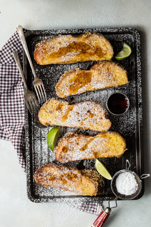 Just when you thought French toast couldn't get any better, here it is: Challah French Toast makes one of the most indulgent and delicious breakfasts ever. Serve these crispy-on-the-outside, custard-on-the-inside slices with your favorite fresh fruit and lots of warm syrup.