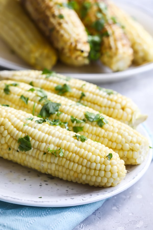 Few things are as wonderful as fresh corn on the cob on a beautiful summer night. Here are four different cook corn on the cob recipes, depending on what you have going on in the kitchen— all of them foolproof and completely delicious.