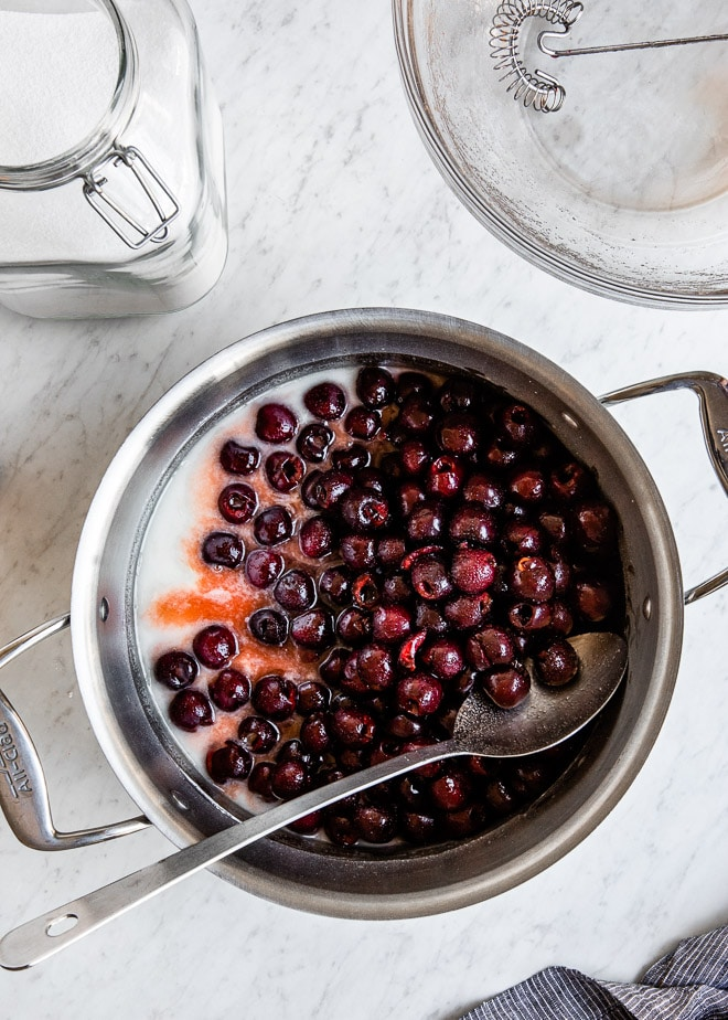 Homemade Cherry Pie Filling makes the best cherry pie in the world, but it doesn't stop there. Spoon it over yogurt, cheesecake, or ice cream; all of the sudden, life is a whole lot cheerier.