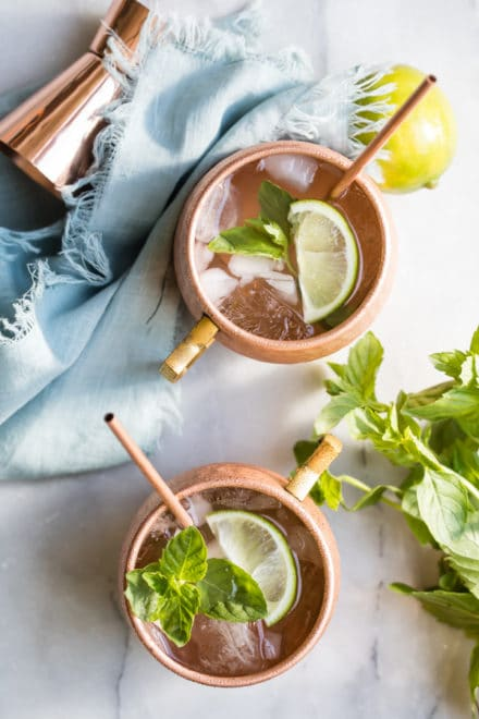 Only a couple extra ingredients makes the Best Moscow Mule you've ever tasted, and yes, it's still served in a frosty copper mug! Find out what sets it way apart from the rest of the herd.