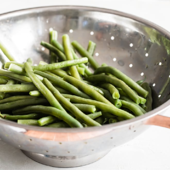 How To Blanch Green Beans Culinary Hill