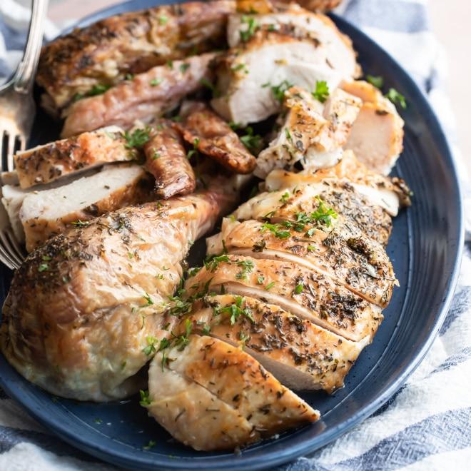 Make Ahead Roasted Turkey Recipe